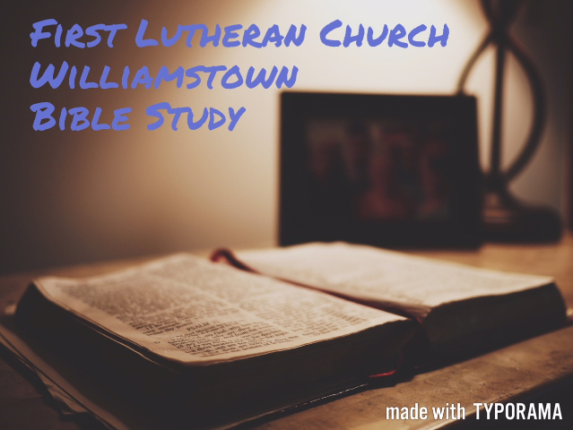 Williamstown Bible Study